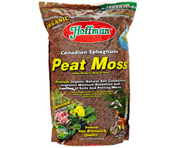 Sphagnum Peat Moss, Improves Moisture Retention, Stimulates New Root Growth